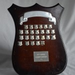 Hamilton Hockey Association - 1st Grade Championship Shield. Awarded to Reserve Men, 2012, 2nd Round Winners.