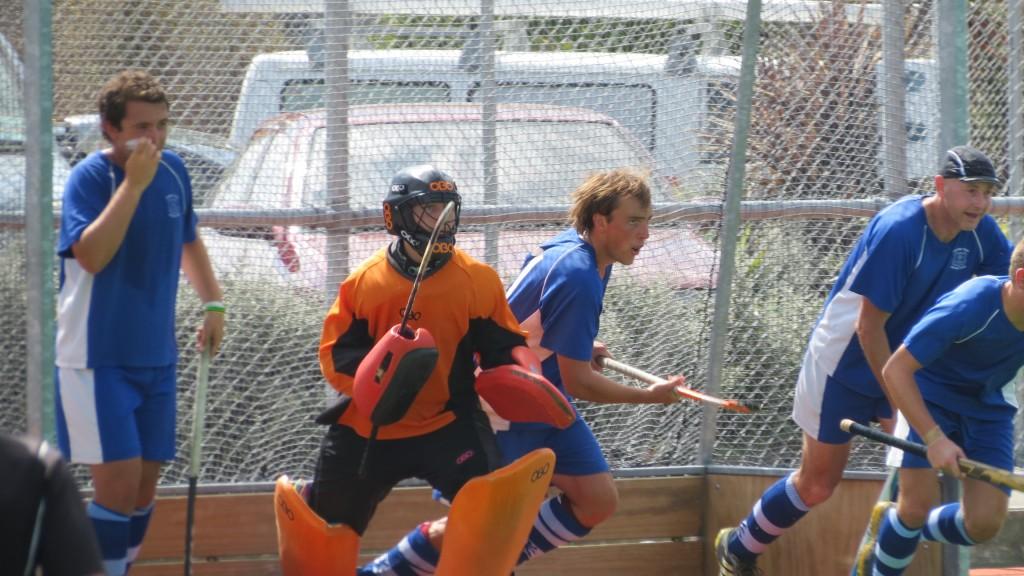 Fraser Tech Premier Men Preseason hockey game in Taupo