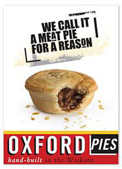 Oxford Pies. We call it a meat pie for a reason.