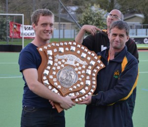 Fraser Tech Hockey Club awarded the Club of the Year award - Killip Memorial Shield, collected by our very proud President Craig Armstrong.
