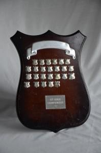 Hamilton Hockey Association - 1st Grade Championship Shield. Awarded to Reserve Men, 2012, 2nd Round Winners.