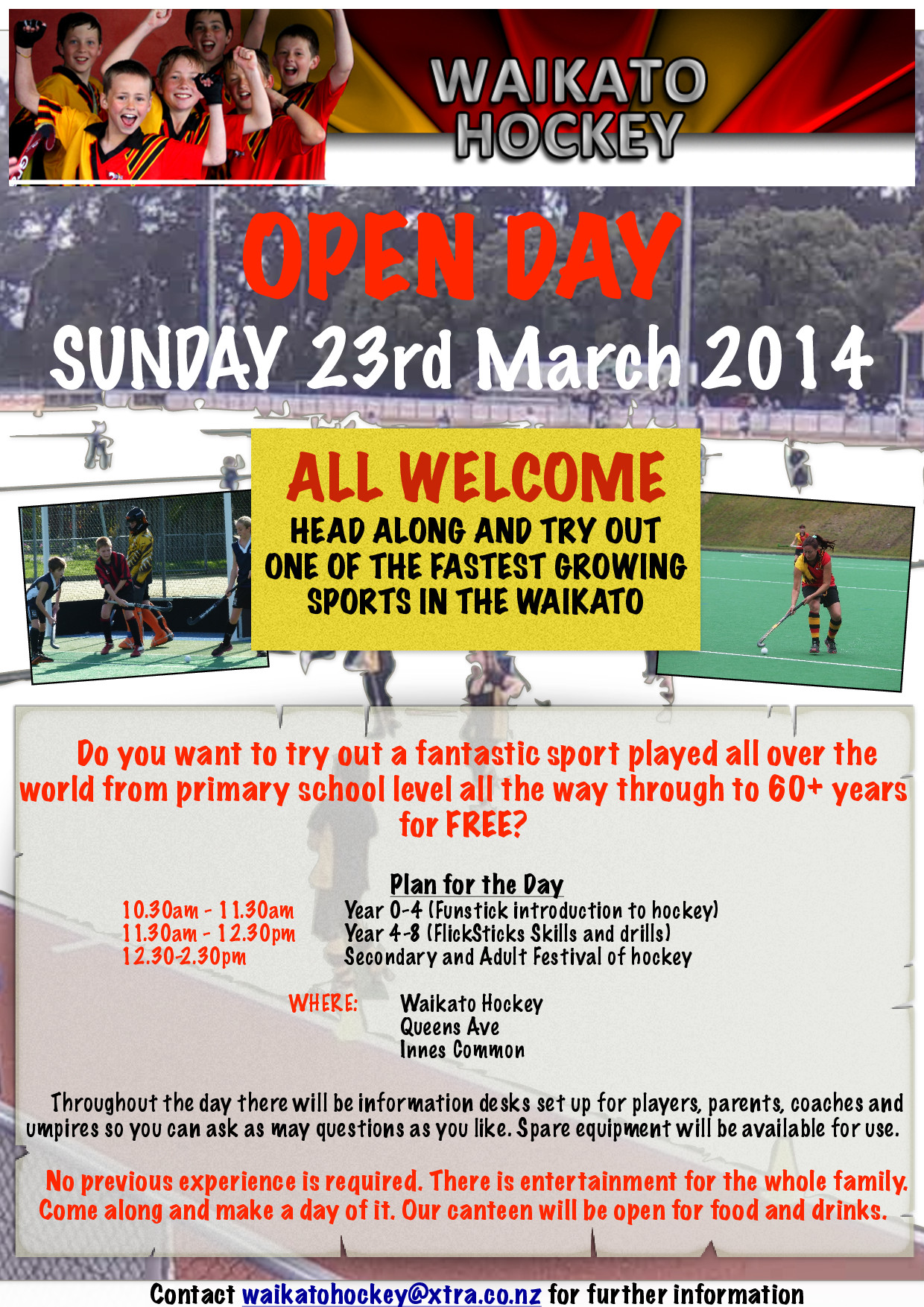 WHA Open Day – 23 March