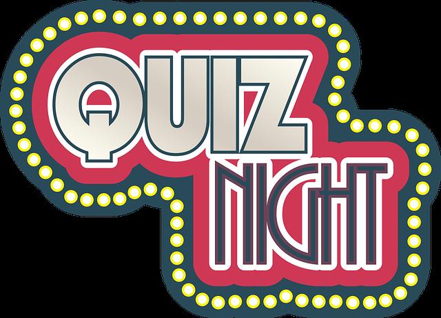 2018 Quiz Night – 7th March
